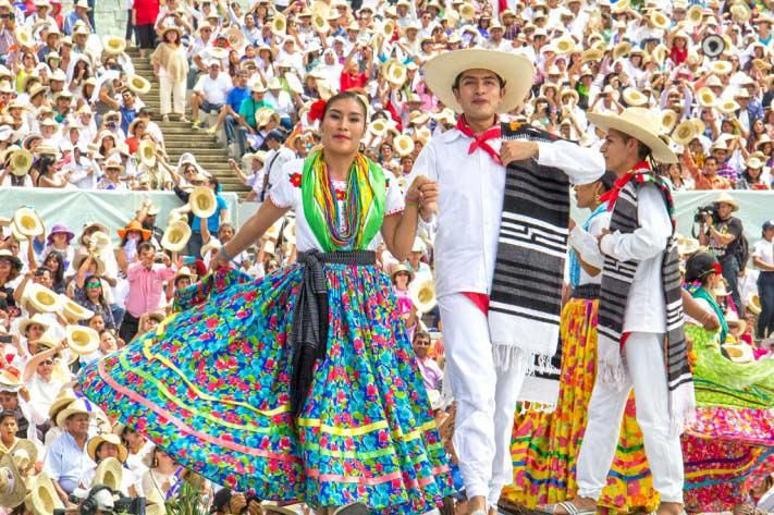 Baile Guelaguetza Oaxaca