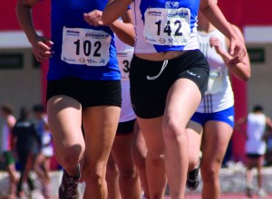 Competencia de atletismo