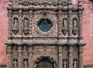 Fachada principal de la Catedral de Zacatecas