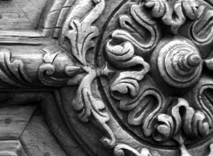 Detalle de un portón
