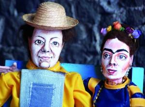 Ofrenda a Frida y Diego en la Casa Azul