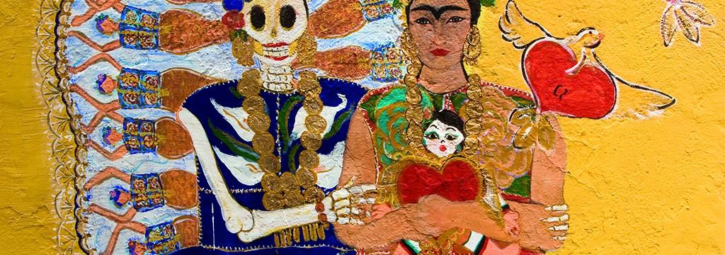 Fresco de Frida