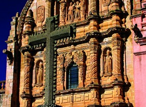 Fachada de la Parroquia de San Pedro y San Pablo (Santuario de Nuestra Sra. del Carmen)