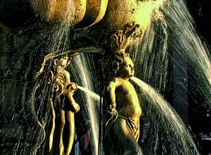 Fuente barroca de San Miguel Arcángel