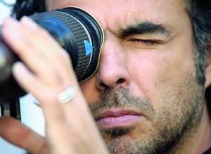 Alejandro González Iñárritu en la filmación de su película Biutiful
