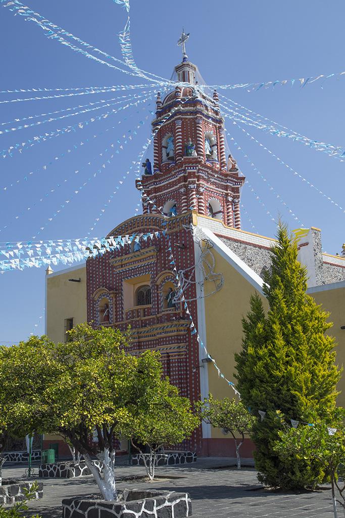 Santa María Tonanzintla © Foto Cortesía Bruno Pérez Chávez