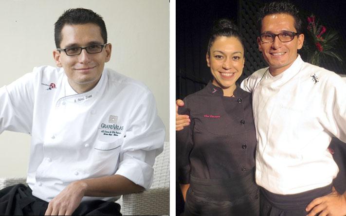Xavier Pérez Stone & Elia Herrera © Foto cortesía Consulado General de México en Toronto