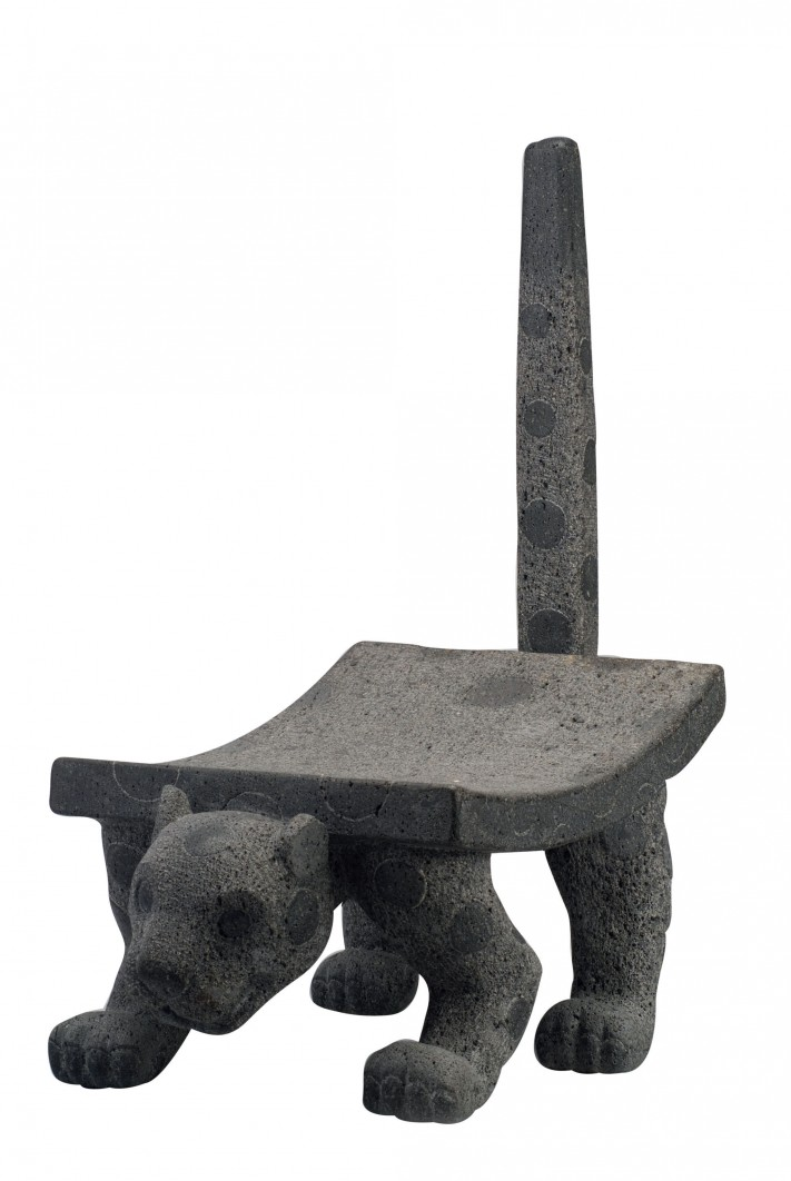 Metate en forma de jaguar