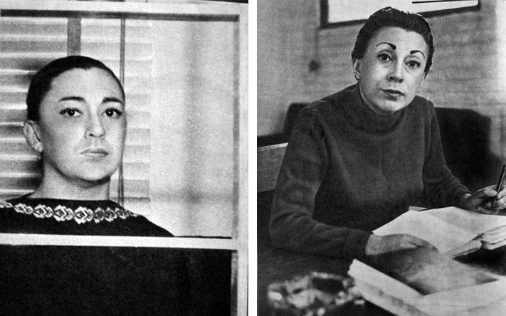 Rosario Castellanos © Foto cortesía del Archivo General de la Nación