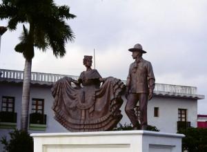 Monumento al baile típico jarocho