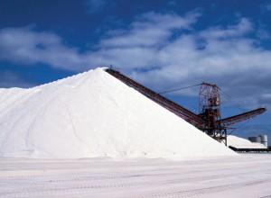 Montaña de sal