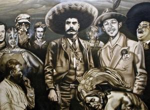 Mural en Tepito
