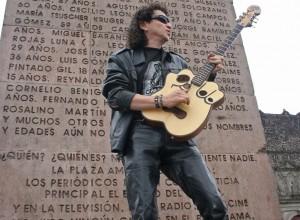 Alex Lora en Tlatelolco