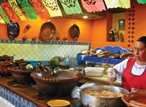 Cocina tradicional en Querétaro.