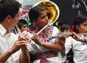 Banda Filarmónica Infantil Indígena de la Ciudad de México