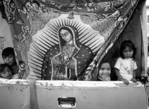 Peregrinación, 12 de diciembre, día de la Virgen de Guadalupe.