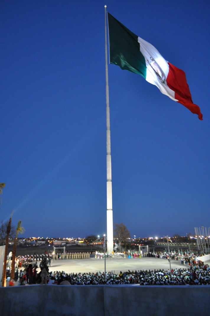 Bandera más grande © Cortesía del Gobierno de Piedras Negras