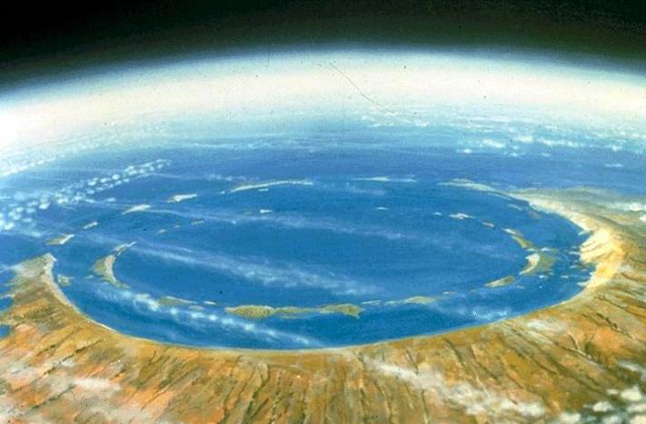 Cráter de Chicxulub © Cortesía UNAM