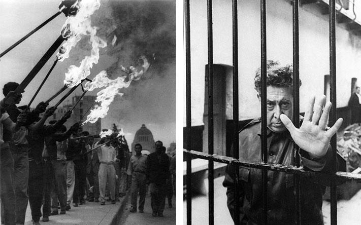 Antorchistas - Movimientos sociales de 1958 / Siqueiros tras la reja