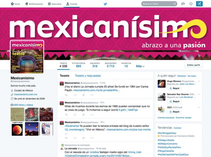 Twitter © Mexicanísimo