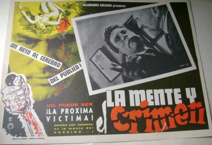 La mente y el crimen de Alejandro Galindo