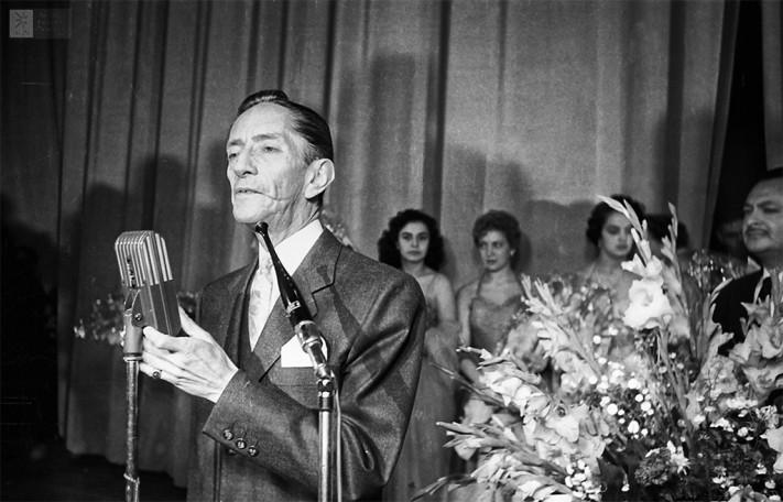 Agustín Lara © Archivo General de la Nación