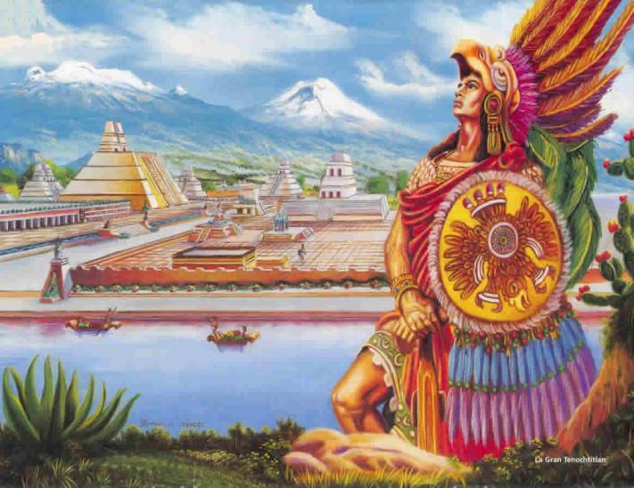 El Día Que Hernán Cortés Conoció A Moctezuma Relatado Por Los