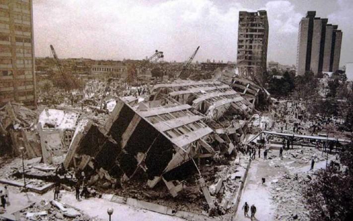 desastre sismo 1985