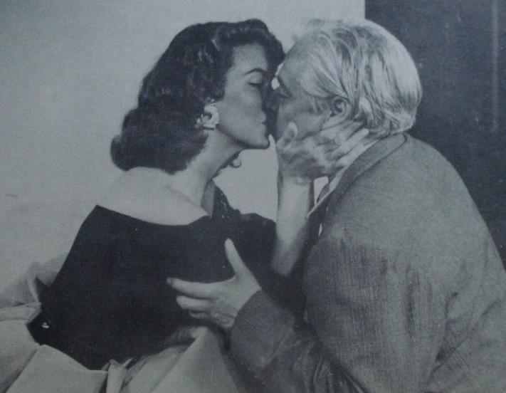 Renato Leduc & María Félix