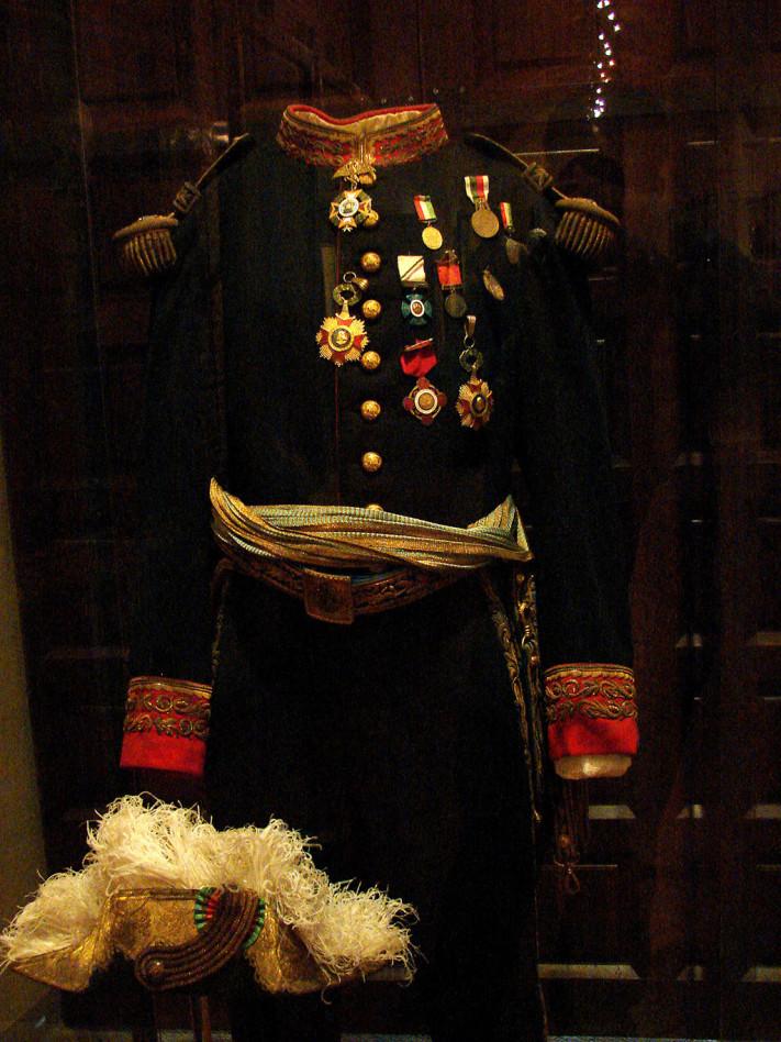 Uniforme de Porfirio Díaz