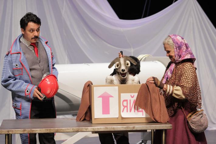 Foto1 Laika. Teatro Julio Castillo_1024
