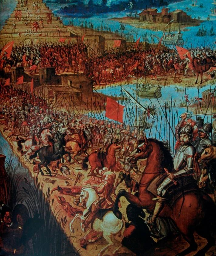 Caida de México Tenochtitlan