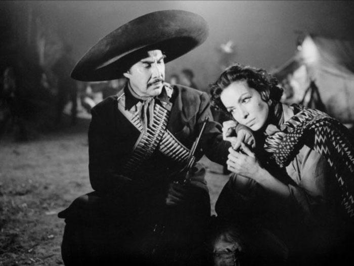 Emilio Fernández y María Félix