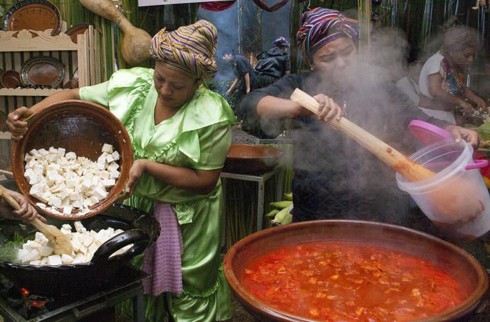 Cocineras tradicionales © Karina Flores