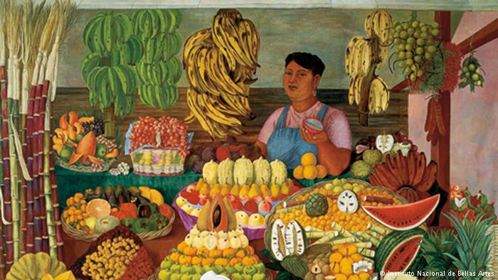 La vendedora de frutas INBA