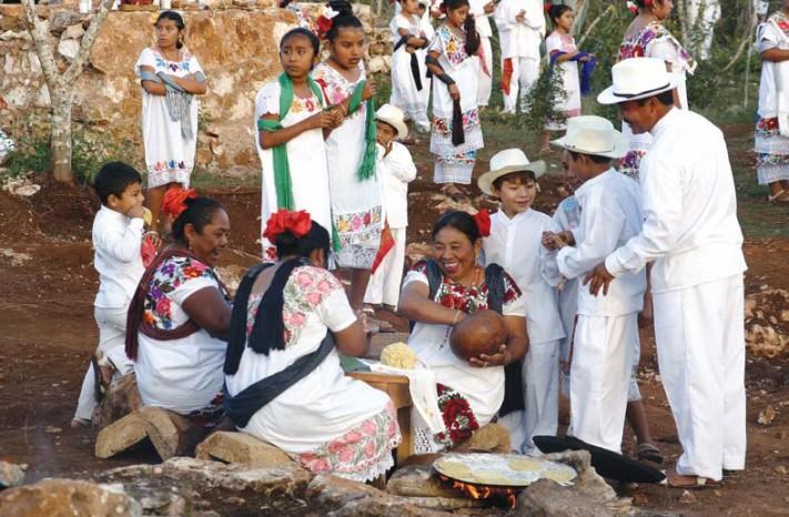 niños mayas