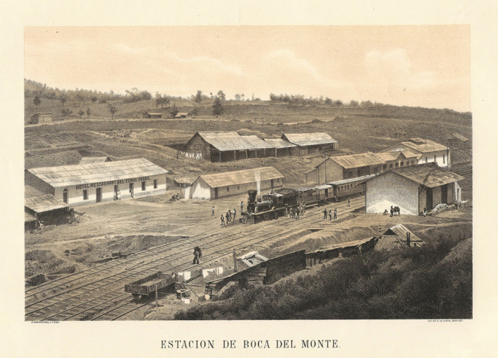 13 Estación de Boca del Monte. Santiago Hernandez. Museo del