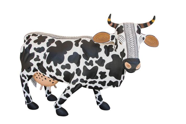 Alebrije en forma de vaca. San Juan Arrazola, Oaxaca