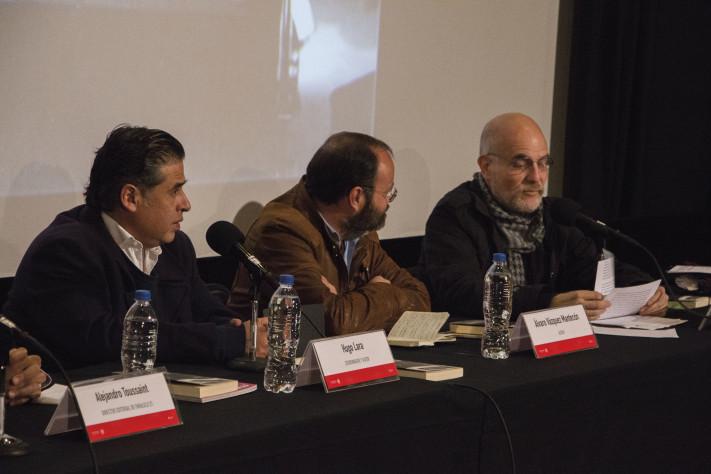 Hugo Lara Chávez, Álvaro Vázquez Mantecón y Víctor Ugalde