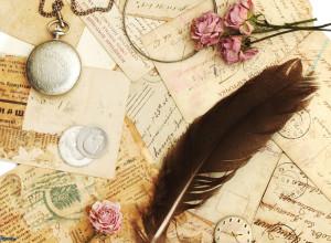 cartas,-pluma,-rosas-rosas,-correo,-reloj-historico-219423