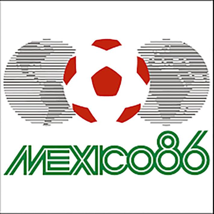 logo mundial 1986