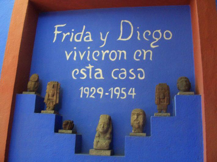 Frida y Diego casa