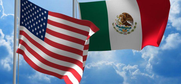 banderas-eeuu-y-mexico